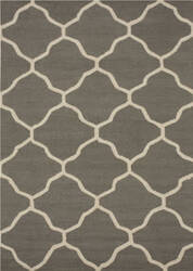 Eastern Rugs Moroccan Me5gy Gray Area Rug