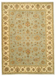 Eastern Rugs Agra Nk57bl Blue Area Rug