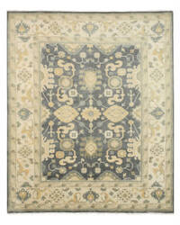 Eastern Rugs Oushak Ous1bl Blue Area Rug