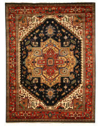 Eastern Rugs Classic P10bnv Navy Area Rug