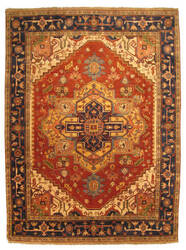 Eastern Rugs Tribal P10brt Rust Area Rug