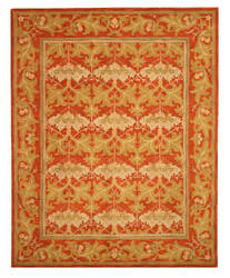 Eastern Rugs Classic T112rt Rust Area Rug
