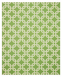 Eastern Rugs Dhurrie Tlnk1gn Green Area Rug