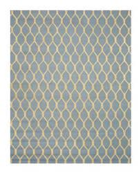 Eastern Rugs Modern Vc1001bl Blue Area Rug