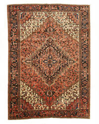 Eastern Rugs Heriz X29268 Rust Area Rug