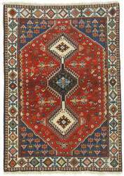 Eastern Rugs Yalameh X32543 Red Area Rug