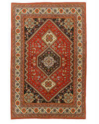 Eastern Rugs Abadeh X32720 Red Area Rug