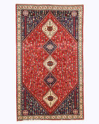 Eastern Rugs Abadeh X32726 Red Area Rug