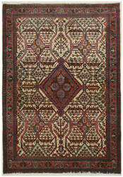 Eastern Rugs Abadeh X32746 Ivory Area Rug