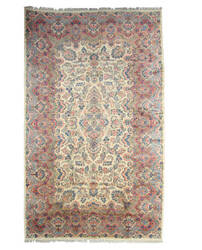 Eastern Rugs Kerman X33314 Ivory Area Rug
