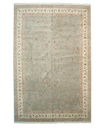 Eastern Rugs Tabriz X34375 Green Area Rug