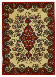 Eastern Rugs Kashan X34645 Ivory Area Rug