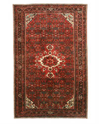 Eastern Rugs Hosseinabad X34714 Red Area Rug