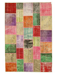 Eastern Rugs Turkish Patchwork X35374 Multi Area Rug