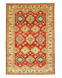 Eastern Rugs Super Kazak X35876 Red Area Rug