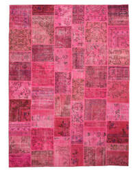 Eastern Rugs Turkish Patchwork X35915 Pink Area Rug