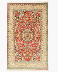 Eastern Rugs Qum X35969 Red Area Rug