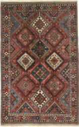 Eastern Rugs Yalameh X36019 Red Area Rug