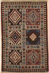Eastern Rugs Yalameh X36056 Red Area Rug