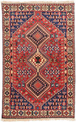 Eastern Rugs Yalameh X36068 Red Area Rug