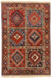 Eastern Rugs Yalameh X36071 Red Area Rug