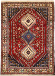 Eastern Rugs Yalameh X36089 Red Area Rug