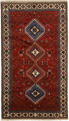 Eastern Rugs Yalameh X36091 Red Area Rug