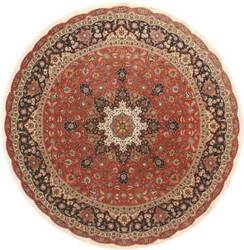 Eastern Rugs Tabriz X36202 Orange Area Rug
