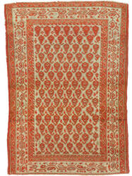 Eastern Rugs Malayer Yz724 Rust Area Rug