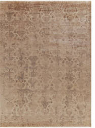 Exquisite Rugs Lisbon Hand Knotted 2122 Ivory Area Rug