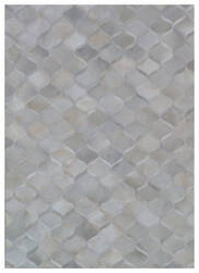 Exquisite Rugs Natural Hair on Hide 2150 Ivory - Gray Area Rug
