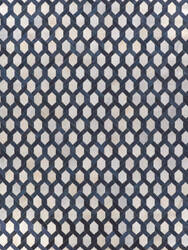 Exquisite Rugs Natural Hair on Hide Silver - Blue Area Rug