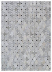 Exquisite Rugs Natural Hair on Hide 2176 Silver - Ivory Area Rug