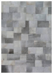 Exquisite Rugs Natural Hair on Hide Silver - Gray Area Rug