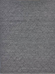 Exquisite Rugs Brentwood Hand Woven Black Area Rug