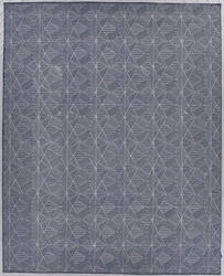 Exquisite Rugs Pavilion Flatwoven Navy Area Rug