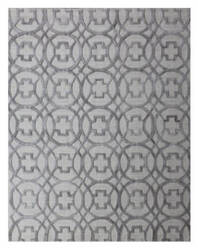 Exquisite Rugs Windsor Hand Woven Gray Area Rug