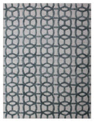 Exquisite Rugs Windsor Hand Woven Dark Blue - Gray Area Rug