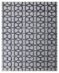 Exquisite Rugs Windsor Hand Woven Blue - Gray Area Rug