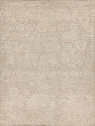 Exquisite Rugs Meena Hand Knotted Ivory - Beige Area Rug