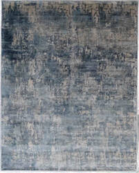 Exquisite Rugs Carmen Hand Woven Blue Area Rug