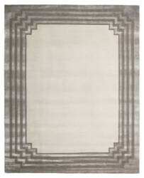 Exquisite Rugs Vero Hand Woven Ivory - Silver Area Rug