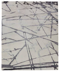 Exquisite Rugs Vero Hand Woven Silver - Gray Area Rug