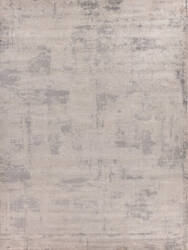 Exquisite Rugs Roset Hand Woven 2516 Silver Area Rug