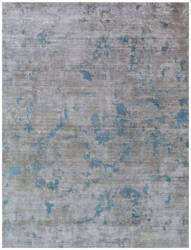 Exquisite Rugs Reflections Hand Woven Gray Area Rug