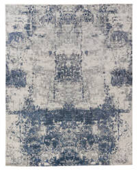 Exquisite Rugs Roset Hand Woven Blue Area Rug