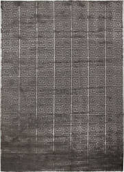 Exquisite Rugs Greco Hand Knotted Dark Gray Area Rug