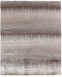 Exquisite Rugs Bamboo Silk Hand Knotted Gray - Brown Area Rug