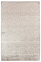 Exquisite Rugs Ikat Hand Knotted Ivory Area Rug