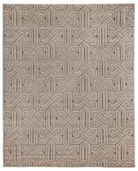 Exquisite Rugs Prague Hand Knotted Ivory - Gray Area Rug